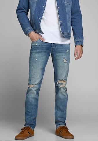 Jack & Jones Slim - fit - Jeans »GLENN ORIGINAL« kaufen