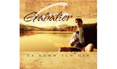 Musik-CD »DA KOMM' ICH HER (A) / Gabalier,Andreas« kaufen