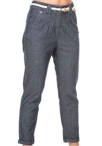 Ragwear 7/8-Hose »WOLFKY«, (2 tlg., mit abnehmbarem Gürtel), in Denim-Optik kaufen