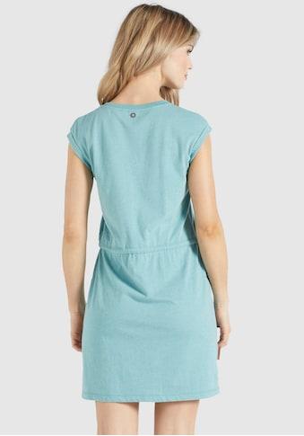 khujo Shirtkleid »BRITH«, mit kontrastfarbenen Bindeband in der Taille kaufen