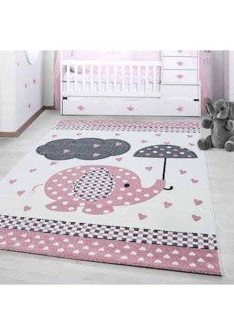 Kinderteppich, »Kids 570«, Ayyildiz, rechteckig, Höhe 12 mm, maschinell gewebt kaufen