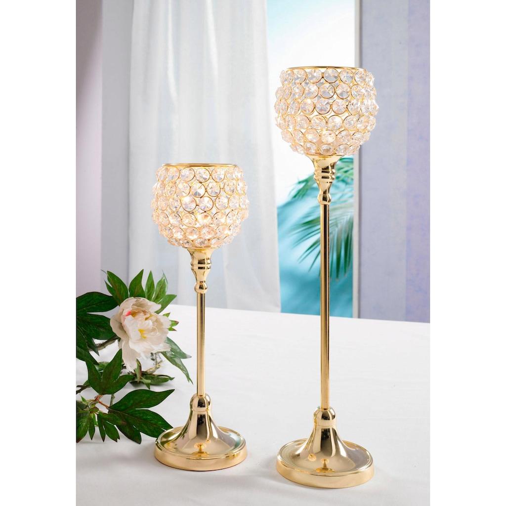 Home affaire Teelichthalter »Kristall«