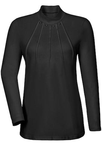 Classic Basics Shirt mit Schmuckknöpfe kaufen