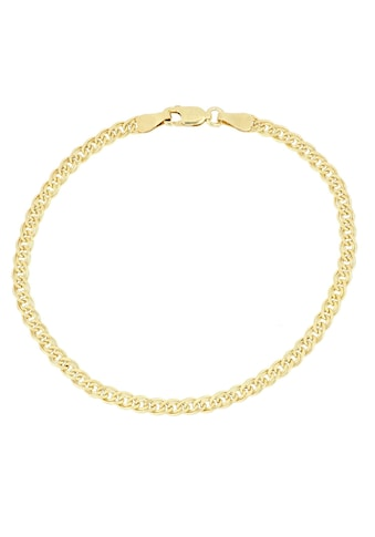 Firetti Goldarmband »Doppelpanzerkettengliederung, 4,0 mm breit, 2-fach diamantiert« kaufen