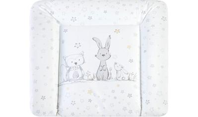 Julius Zöllner Wickelauflage »Softy - Häschen und Eule«, Made in Germany kaufen