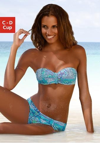 Buffalo Bandeau-Bikini-Top »Shari«, mit Paisleydruck kaufen