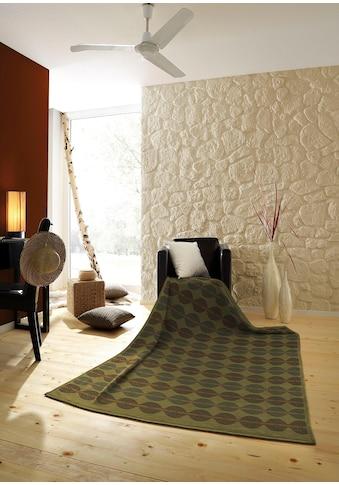 BIEDERLACK Wohndecke »Senegal«, mit trendigen Kreisen kaufen