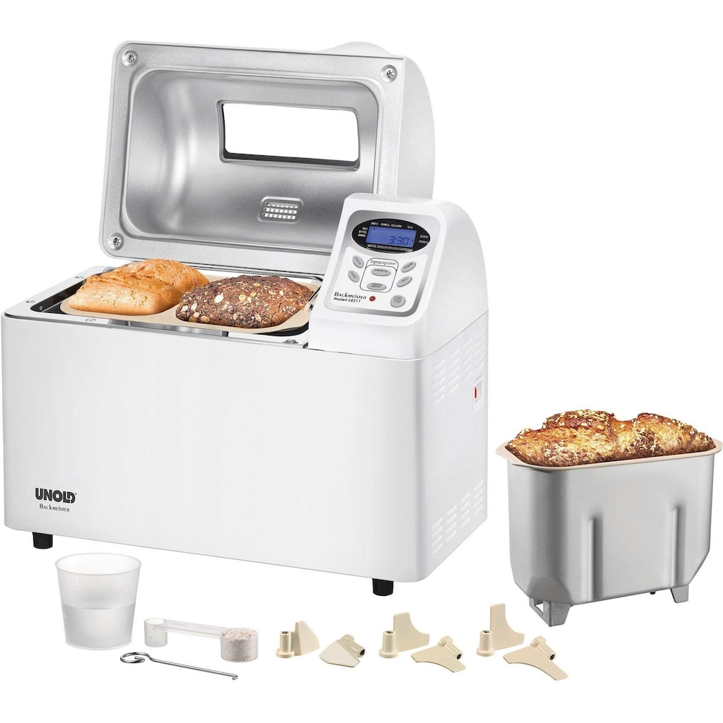 Unold Brotbackautomat »Backmeister extra 68511«, 9 Programme, 700 W