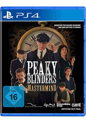 Curve Digital Spiel »Peaky Blinders: Mastermind«, PlayStation 4 kaufen