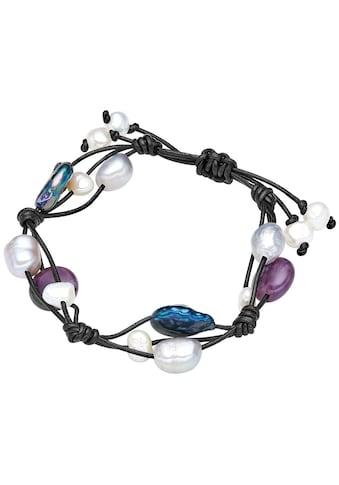 Valero Pearls Perlenarmband »X443«, (1 tlg.), aus Süßwasser-Zuchtperlen kaufen