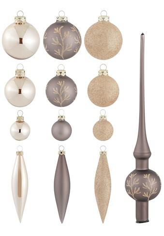 """Thüringer Glasdesign Weihnachtsbaumkugel """"Ranke, Coffee"""" kaufen"""