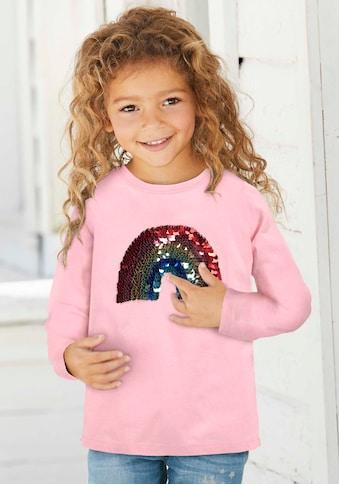 KIDSWORLD Paillettenshirt »Regenbogen« kaufen