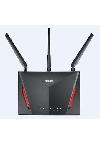 Asus WLAN-Router »AC2900 Dual Band WLAN-Gaming-Router«, RT-AC86U kaufen