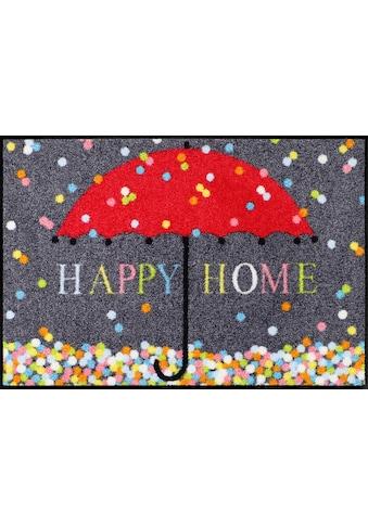 Fußmatte Schirm Konfetti , waschbar kaufen