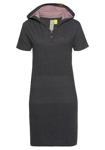 Alife & Kickin Jerseykleid »LeonoraAK«, mit Kontrastfutter in der Kapuze kaufen