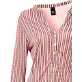 Shirtbluse mit Knopfleiste