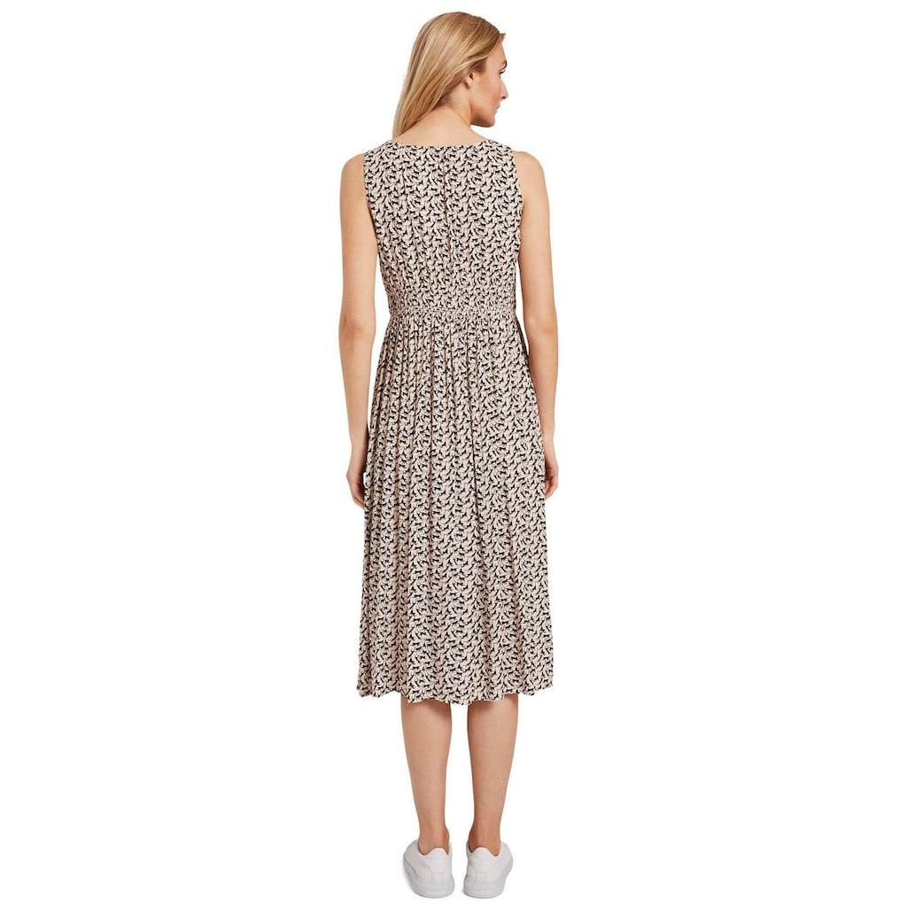 TOM TAILOR Jerseykleid, mit geraffter, elastischer Taille