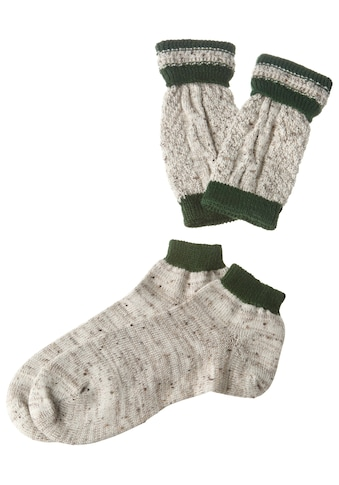 Luise Steiner Trachtensocken, Loferl-Set in traditioneller Farbkombination - Made in... kaufen