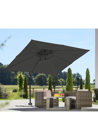 Schneider Schirme Ampelschirm »Rhodos Junior«, mit Schutzhülle und Schirmständer, ohne Wegeplatten kaufen