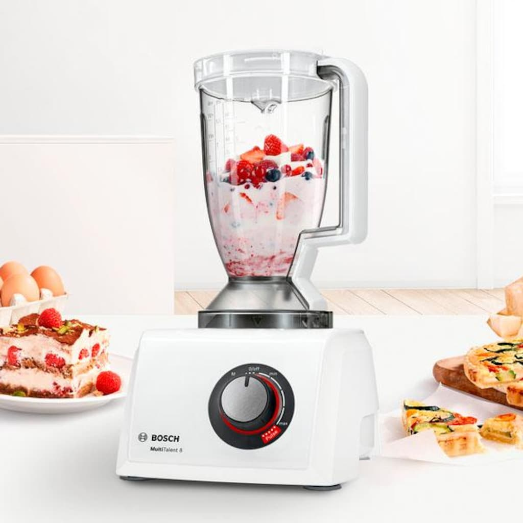 BOSCH Kompakt-Küchenmaschine »MultiTalent 8 MC812W501«