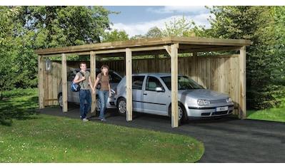 weka Einzelcarport »Gr. 3«, Holz, 270 cm, braun kaufen