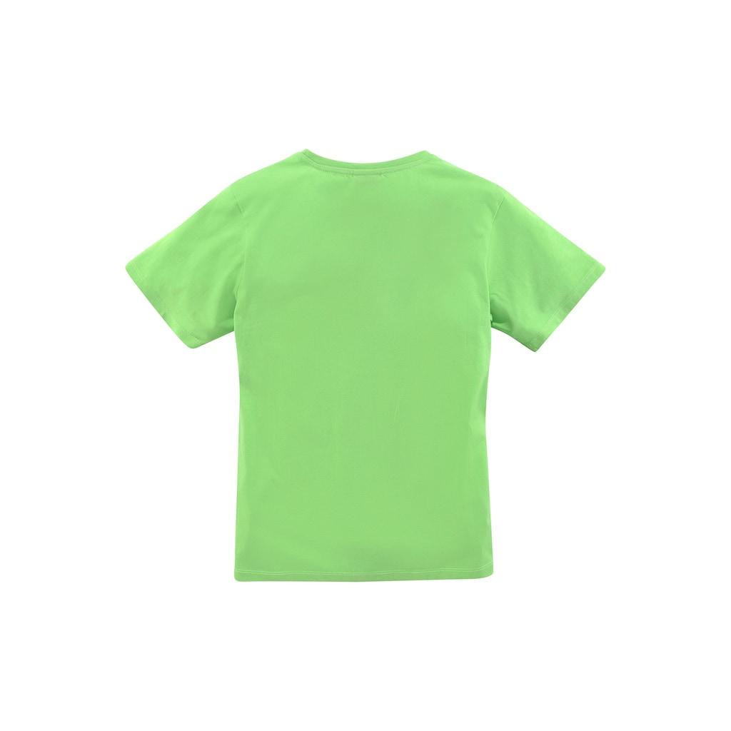 KIDSWORLD T-Shirt »DENKEN HILFT«
