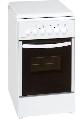 exquisit Elektro-Standherd »EH 10.3 F2«, EH 10.3 F2 kaufen