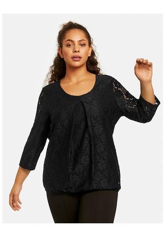Samoon Spitzenshirt »Elastisches Spitzenshirt« kaufen