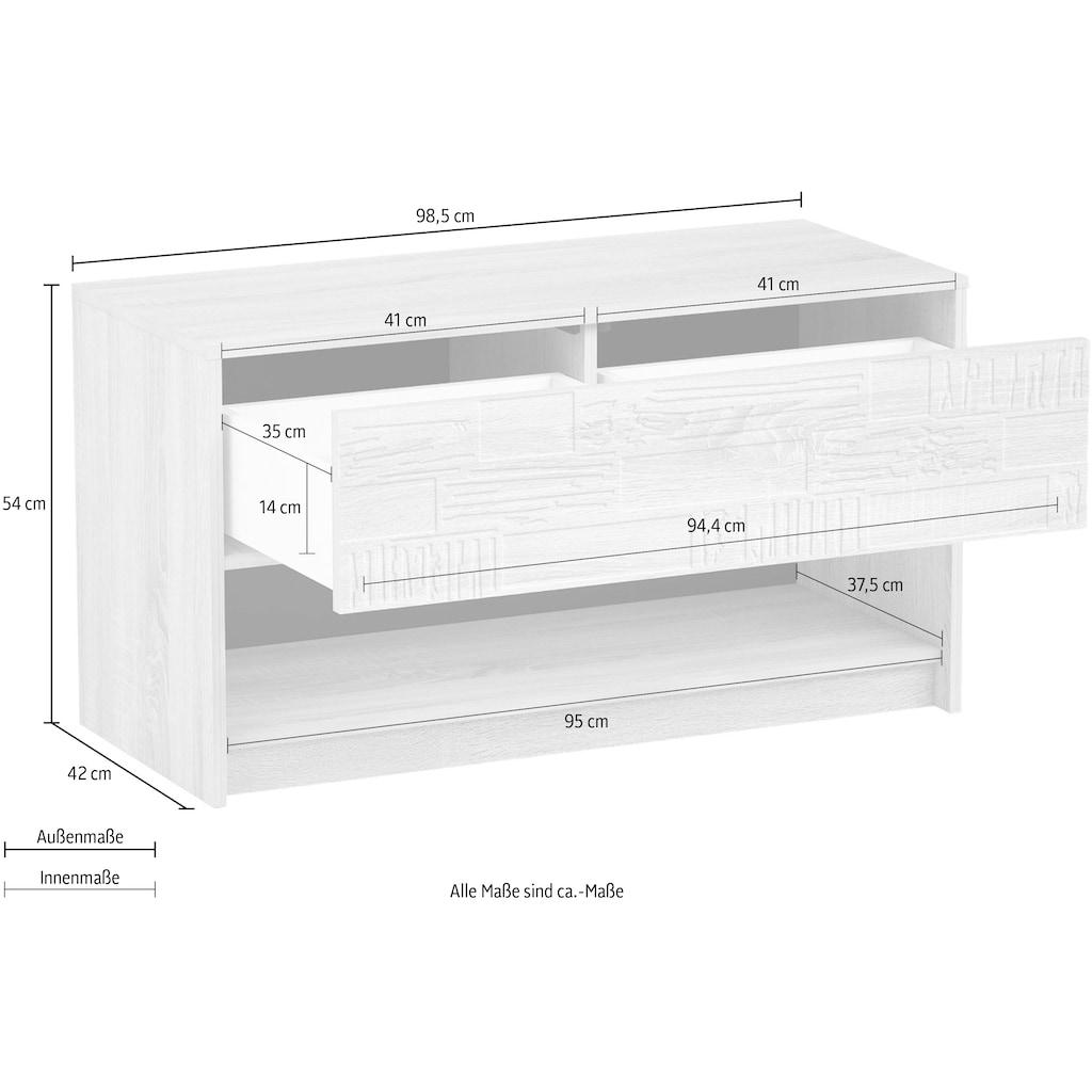 Sitzbank »Brick«, mit 2 Schubladen