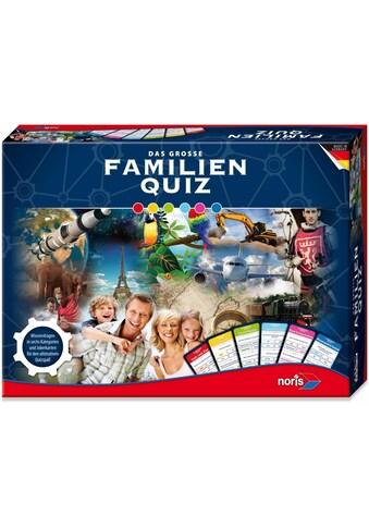 """Noris Spiel, """"Das große Familien Quiz"""" kaufen"""