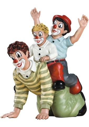 Gildeclowns Sammelfigur »Clown Dekofigur, Der doppelte Reiter«, handbemalt, Wohnzimmer kaufen