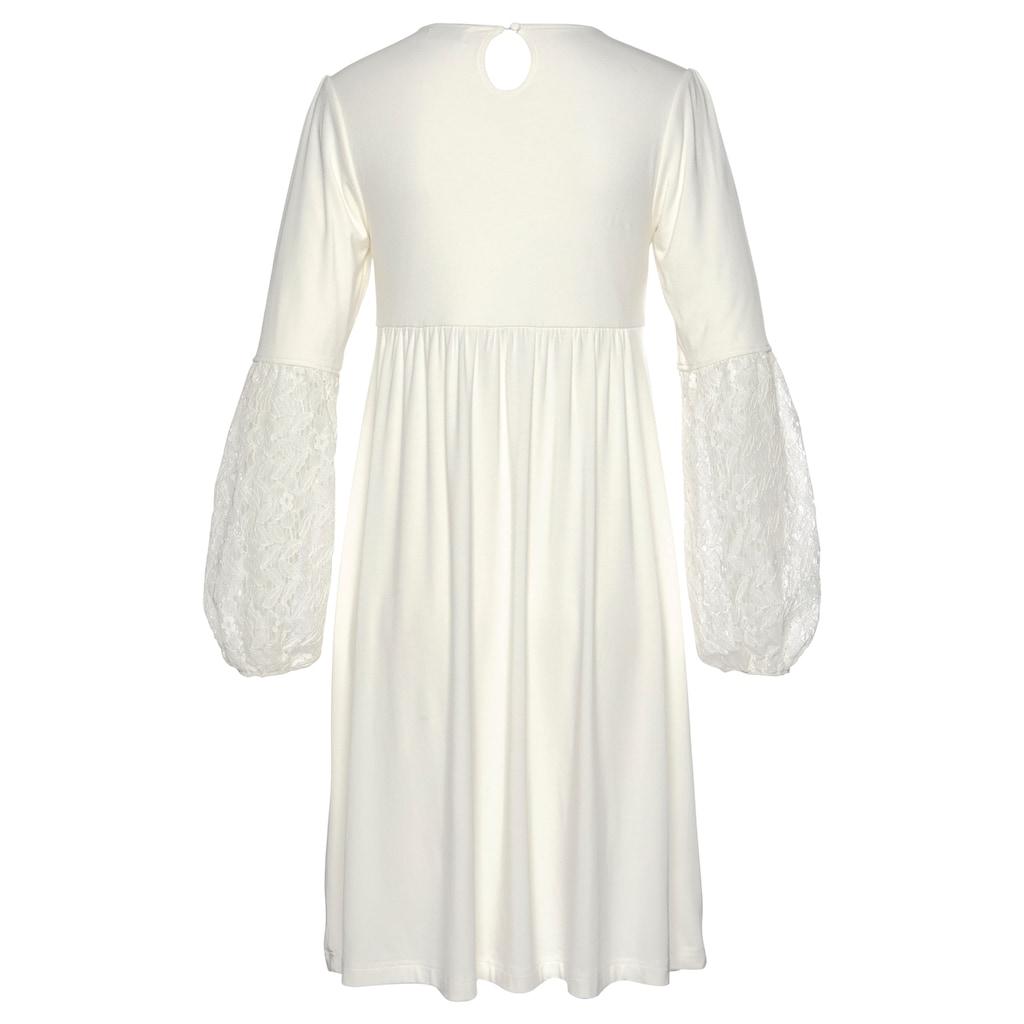 Boysen's Jerseykleid »Soulfully«, mit Spitze