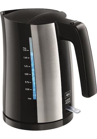 Melitta Wasserkocher »Look® Aqua II«, 1,7 l, 2400 W kaufen