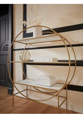 Guido Maria Kretschmer Home&Living Standregal »Shinely«, Gestell aus Metall,... kaufen