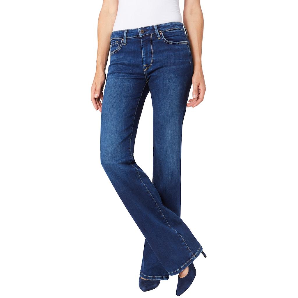 Pepe Jeans Bootcut-Jeans »AUBREY«, in schlichtem Design