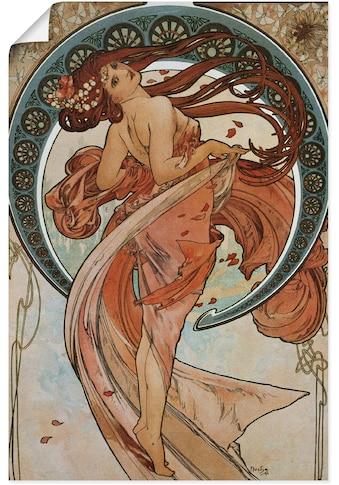 Artland Wandbild »Vier Künste: Der Tanz. 1898.« kaufen