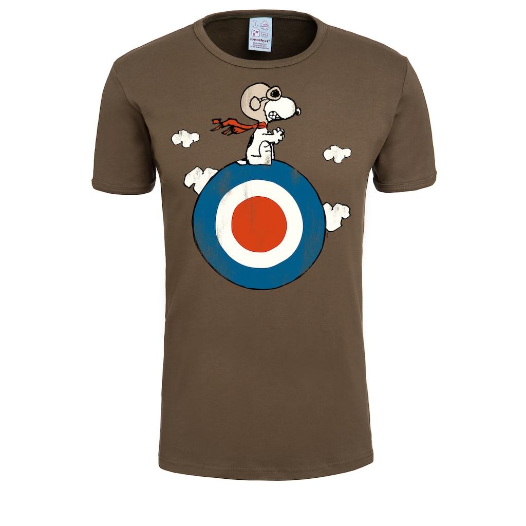 LOGOSHIRT T-Shirt mit Snoopy-Print