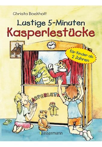 Buch »Lustige 5-Minuten-Kasperlestücke / Christa Boekholt« kaufen
