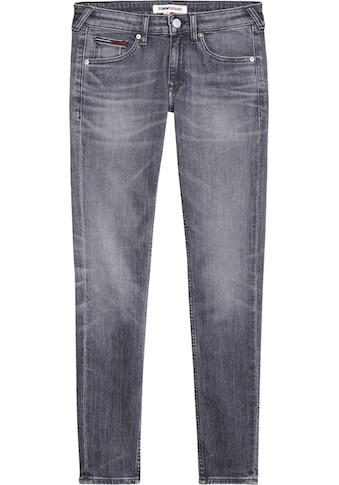 TOMMY JEANS Skinny-fit-Jeans »SOPHIE LR SKNY ANKLE ZIP BRBK«, mit Reißverschlüssen am Beinabschluss kaufen
