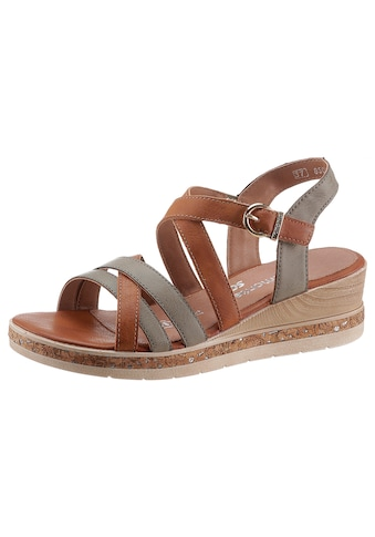 Remonte Sandalette, mit Laufsohle in Kork-Optik kaufen