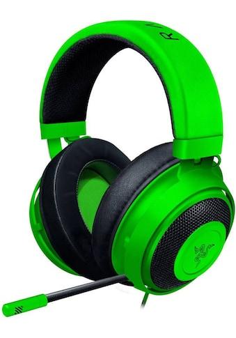 RAZER Gaming-Headset »Mit Kältegel gefüllte Ohrpolster«, Kraken Gaming Headset kaufen
