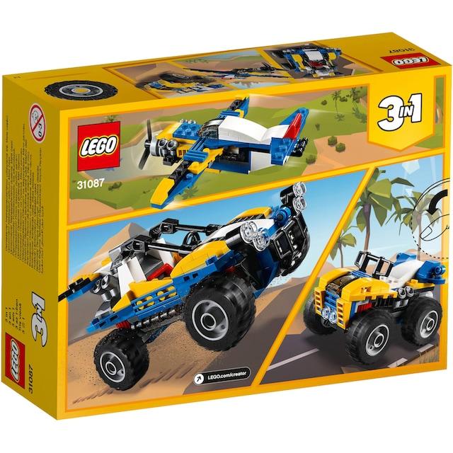"LEGO® Konstruktionsspielsteine ""Strandbuggy (31087), LEGO® Creator"", Kunststoff, (147-tlg.)"