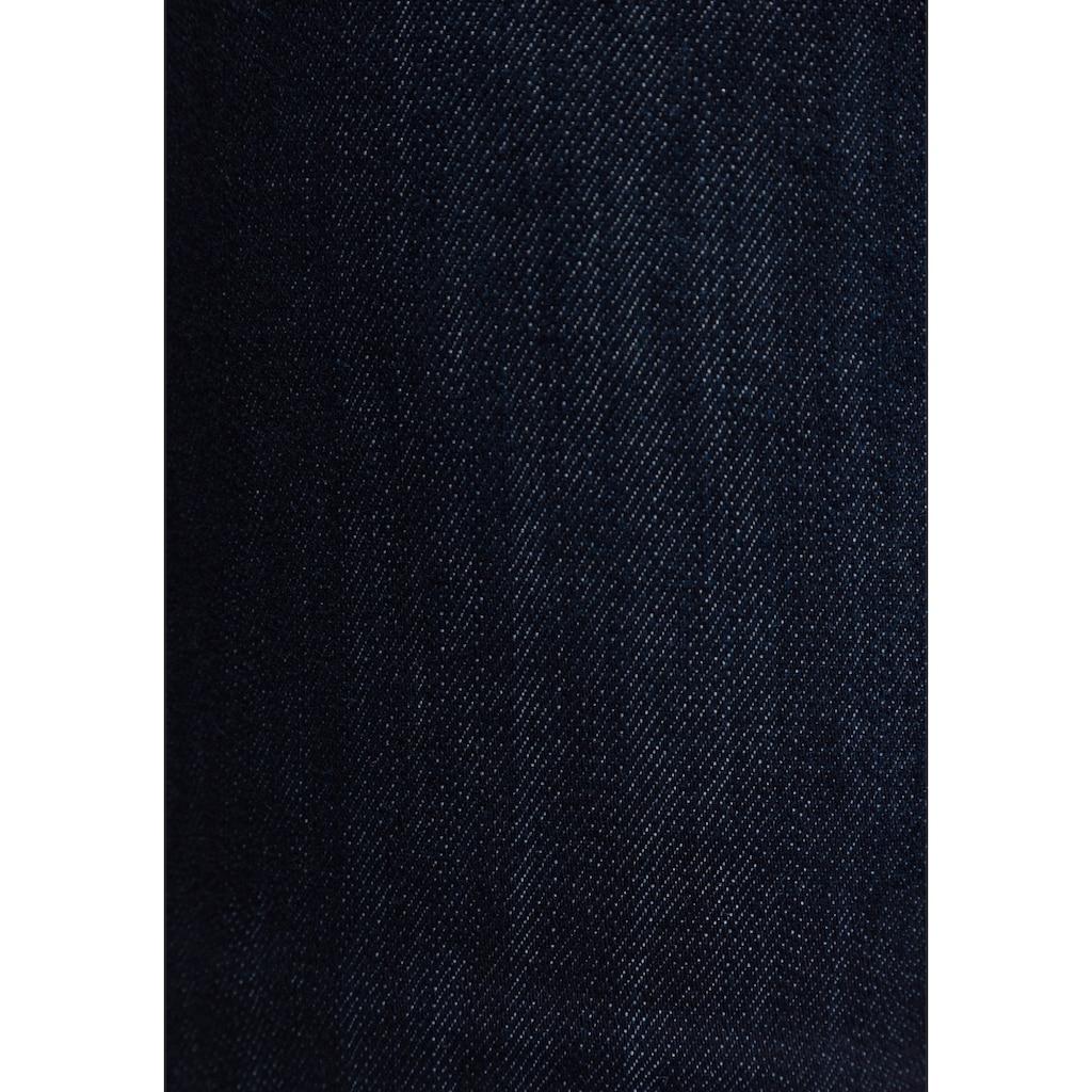 Freeman T. Porter Gerade Jeans »Amelie SDM«, doppelte Passe mit knack PO Effekt