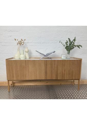 andas Sideboard »Jytte«, Design by Morten Georgsen, mit massiven Holzstreben in der... kaufen