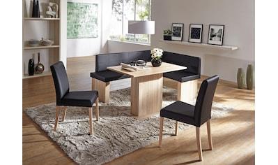 SCHÖSSWENDER Eckbankgruppe »Anna«, (Set, 5 St.), zeitloeses Design kaufen
