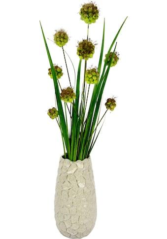 I.GE.A. Kunstgras »Alliumgrasbusch«, in Vase kaufen