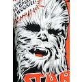 LOGOSHIRT T-Shirt »Chewbacca«, mit lizenziertem Originaldesign