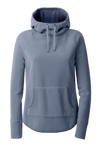 Casual Looks Fleece - Shirt mit abgerundetem Saum kaufen