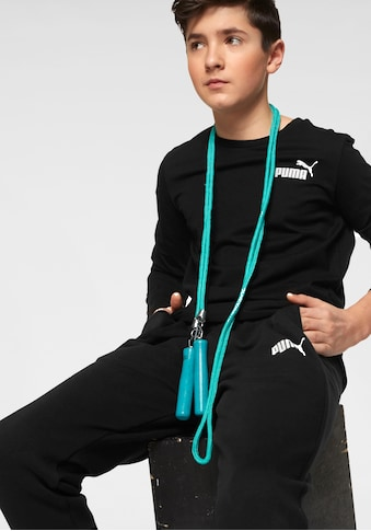 PUMA Langarmshirt »ESSENTIAL LOGO LONGSLEEVE TEE BOYS« kaufen