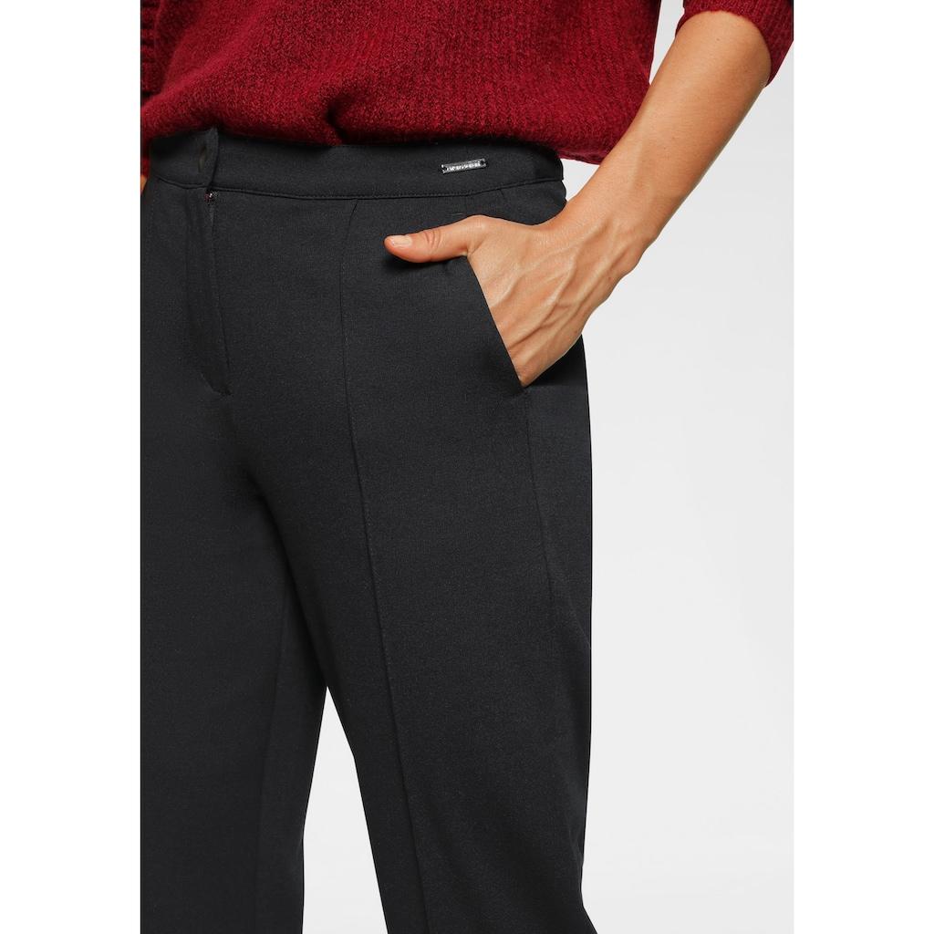 Bruno Banani Jerseyhose, gerade geschnitten, auch in Kurz und Langgrößen